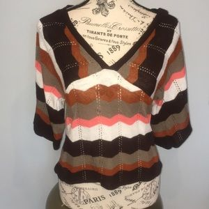 Vintage sweater top festival style